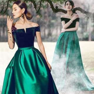 EG0188 Evening Gown, ROM Dress, DND Dress Instock
