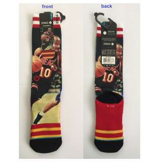 Authentic NBA stance socks (Tim Hardaway).