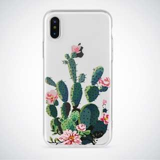 Cactus Clear Soft Case
