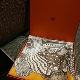Hermes 方巾 90 x 90cm