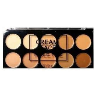 Beauty creations cream face palette