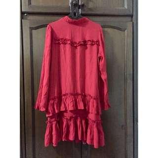 Red dress H&M