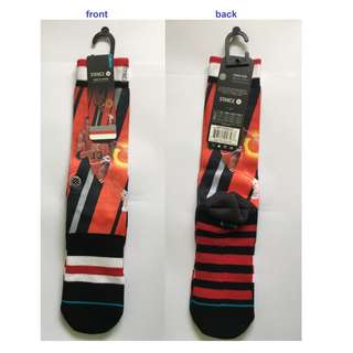 Authentic NBA stance socks (Pippen-Trading Card)