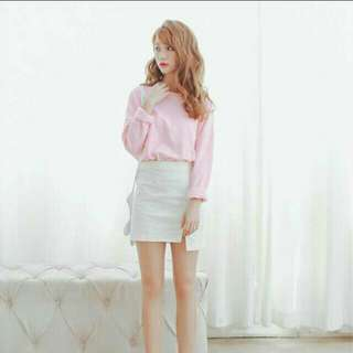 [INSTOCK] CROPPED LONG SLEEVE SWEATER