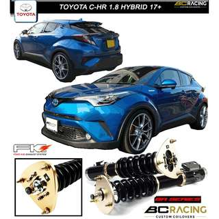 TOYOTA C-HR 1.8 HYBRID '17+  - BC BR SERIES COILOVER