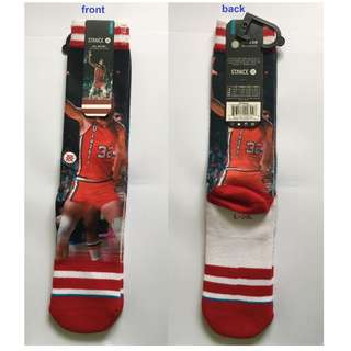 Authentic NBA stance socks (Bill Walton)