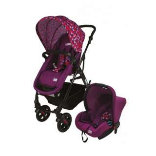 Sweetcherry GL500 Vetro Stroller + Car Seat (Nego)