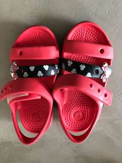 Minnie Mouse Crocs Sandals