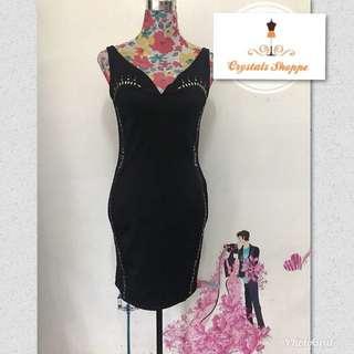 elegant black sexy dress