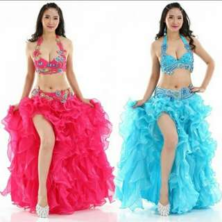 H011 Belly Dance Set Costume