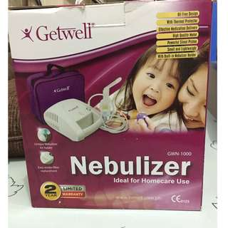 Brand New Getwell nebulizer