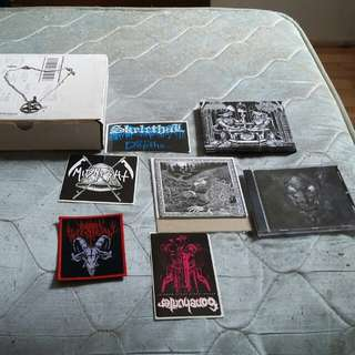 Satanic warmaster package cd