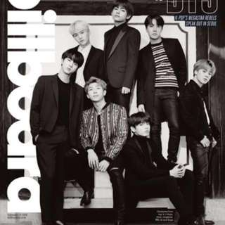 BTS x BILLBOARD Magazine