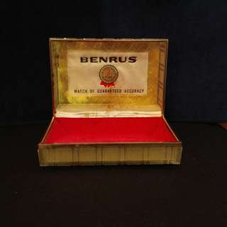 BENRUS舊錶盒watch box