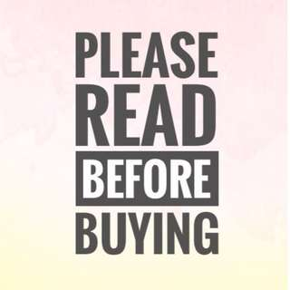 PLS READ BEFORE BUYING