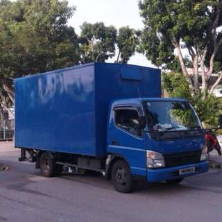 Lorry Rental with driver