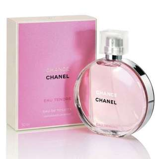 CHANEL CHANCE EAU TENDRE EDT FOR WOMEN (50ml/100ml/150ml/Tester) Tender Pink