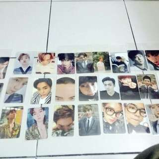 [ARRIVAL] EXO OFFICIAL PHOTOCARDS ARRIVES