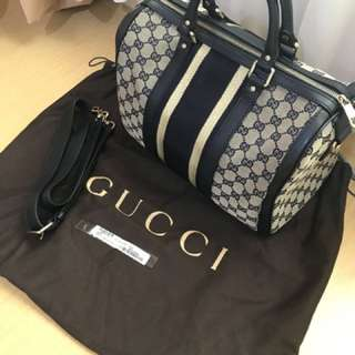 Gucci Boston Bag (legit)