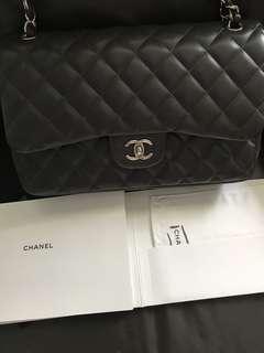 Chanel Jumbo Classic Grey
