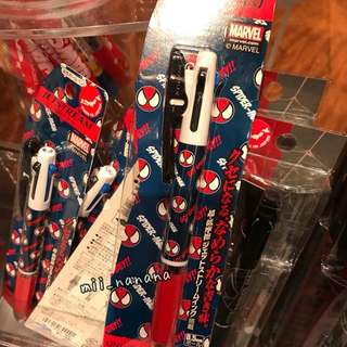 USJ SPIDERMAN 三色筆 $105