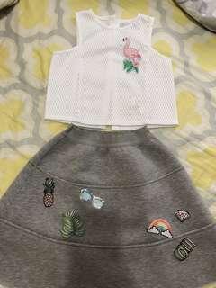 Top / skirt