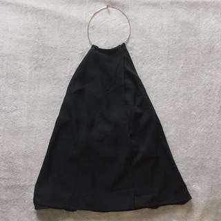 Halter Top in Black