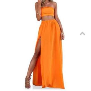 Sisters The Label - Two Piece Gown