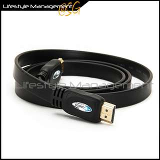 HDMI Cable v1.4 High Density Triple-Layer Shielding for Maximum Noise Rejection Cables