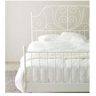 (PENDING) LEIRVIK bed frame. (IKEA)