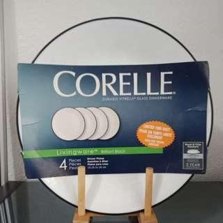 🆕 4pcs Corelle Dinner Plates