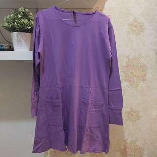Mybamus Purple tunic reprice
