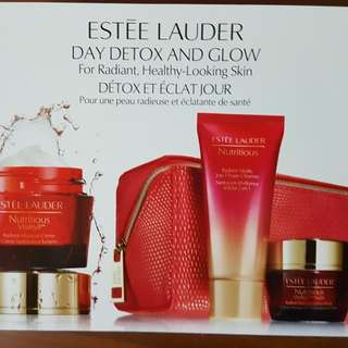 Estee Lauder Day detox and Glow package