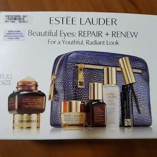 Estee lauder Beautiful eyes Repair plus Renew package