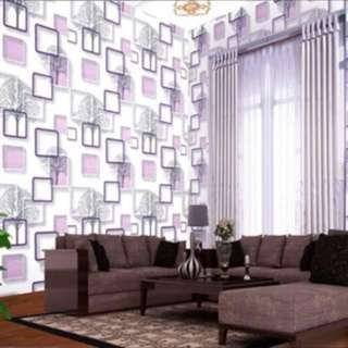 DIY WALLPAPER ELEGANT DESIGN