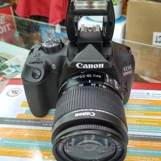 Camera Canon 1300D Wifi camera bisa dicicil (sony,canon,nikon)