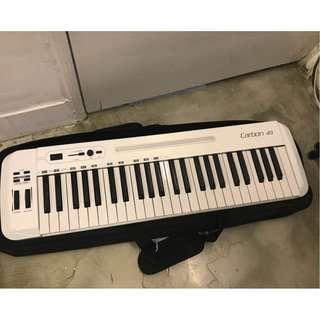 samson carbon 49鍵 編曲鍵盤 演出鍵盤