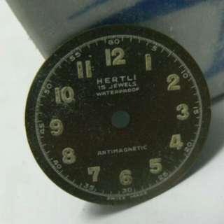 舊手表,字面