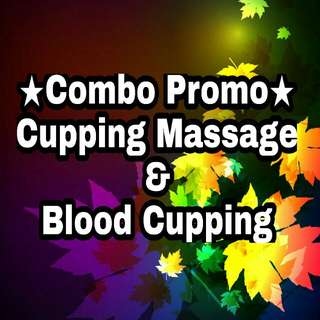 Cupping massage and Blood cupping promo