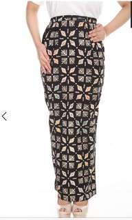 Batik kipas skirt