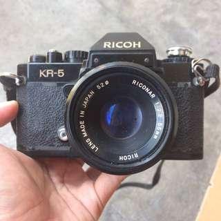 Kamera SLR Ricoh KR - 5