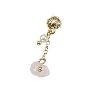 Japan Disneystore Disney Store Ariel the Little Mermaid Stone Petit Jewelry Pierce (for one ear)
