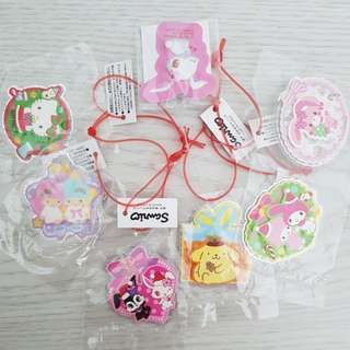 Original sanrio 3d stickers