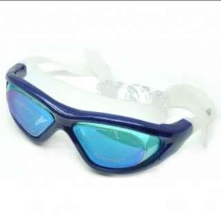 kacamata renang ruihe anti kabut RH9110 blue