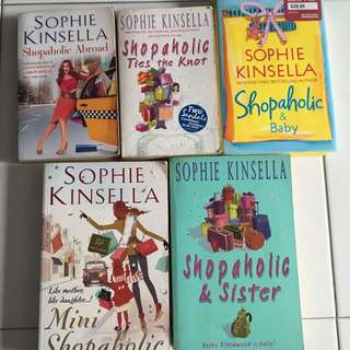 Shopaholic book series by Sophie Kinsella