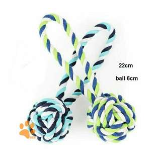 Pet Ball Rope Toy