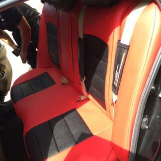Honda Civic genuine leather seat cover (customise)