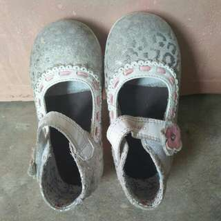 Gray shoes (for kids) (Imported)