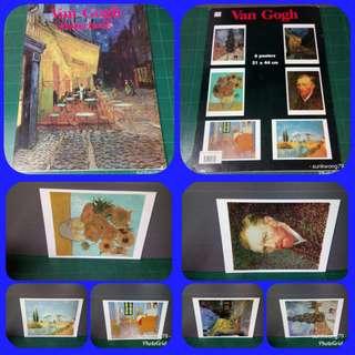 Van Gogh Poster book  大本裝