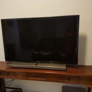 "55"" Samsung 3D LED TV"